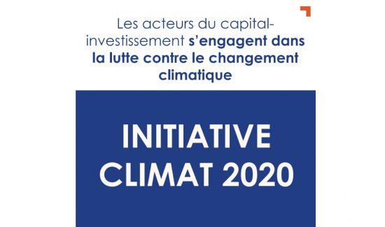 Motion Equity Partners réaffirme son engagement dans la lutte contre le changement climatique en signant l'Initiative Climat 2020 (iC20)