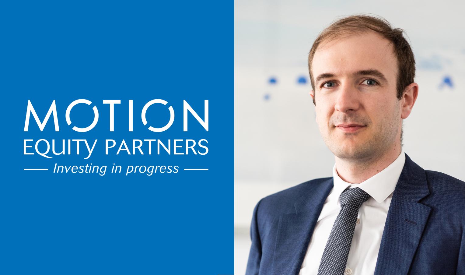 Motion Equity Partners poursuit son développement et promeut un nouvel Associé